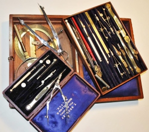 My collection of 19th and 20th century drawing instruments