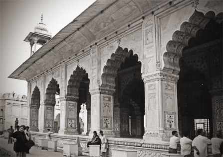 Shah Jahan's Diwan-i-Khas at the Red Fort, Delhi