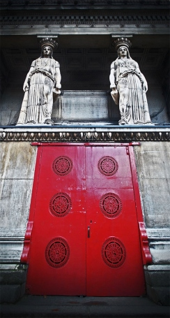 The door to the crypt