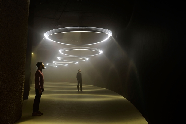United Visual Artists: Momentum, The Curve, Barbican Centre, 13 Feb - 1 June 2014,