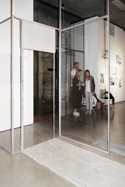 Theresa Braula Reis, M.A. Fine Art, structural intervention