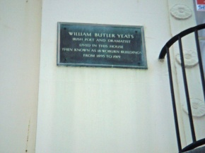 Yeats balcony