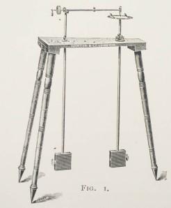 Harmonograph by Newton & Co. - engraving from Harmoniv Vibrations c. 1909