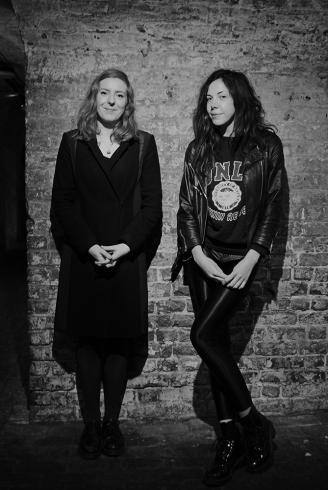 Curators Louise Beer and Melanie King
