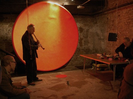 """""""Losts Sounds of Mars"""" installation by Douglas Benford and Rob Olins"""