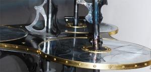 Iron Genie etched zinc plates